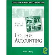 College Accounting: Study Guide/Working Papers, Chapters 1-10