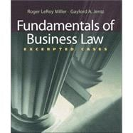 Fundamentals of Business Law Excerpted Cases (with Online Legal Research Guide)