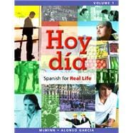 Hoy día Spanish for Real Life, Volume 1