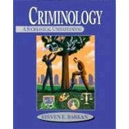 Criminology: A Sociological Understanding