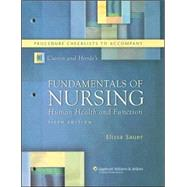 Procedure Checklists to Accompany Craven and Hirnle's Fundamentals of Nursing: Human Health and Function