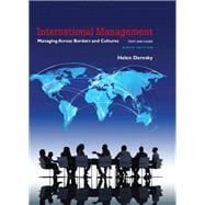 International Management Managing Across Borders and Cultures, Text and Cases