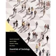 Essentials of Sociology, Media Edition (with InfoTrac)