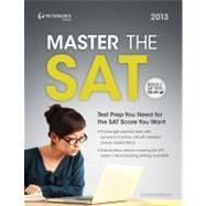 Peterson's Master the SAT 2013