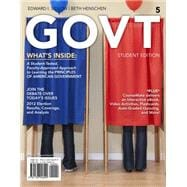GOVT (with Political Science CourseMate with eBook Printed Access Card)