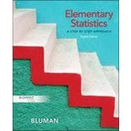 Elementary Statistics: A Step By Step Approach, 8th Edition