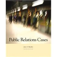 Public Relations Cases (with InfoTrac)