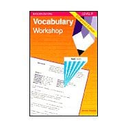 Vocabulary Workshop : Level F, Enhanced Edition, Gr. 11