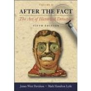 After the Fact, Volume II, with Primary Source Investigator CD