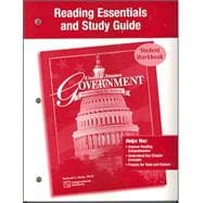 United States Government Democracy in Action, Reading Essentials and Study Guide, Student Edition