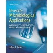 Combo: Benson's Microbiological Applications Complete Version with Connect Microbiology 1 Semester Access Card