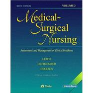 Medical-Surgical Nursing; Assessment and Management of Clinical Problems, 2-Volume Set