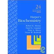 Harper's Biochemistry: A Lange Medical Book