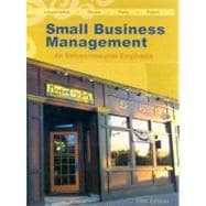 Small Business Management An Entrepreneurial Emphasis (with CD-ROM and InfoTrac)