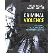 Criminal Violence Patterns, Explanations, and Interventions