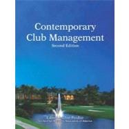 Contemporary Club Management with Answer Sheet (EI)