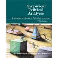 Empirical Political Analysis: Research Methods in Political Science