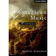 American Music : A Panorama, Concise Edition