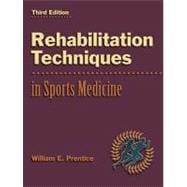 Rehabilitation Techniques in Sports Medicine with PowerWeb : Health and Human Performance