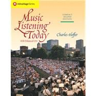 Cengage Advantage Books: Music Listening Today, Compact Edition (with Enhanced CDs)
