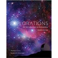 Package: Explorations - An Introduction to Astronomy with Connect 1-semester Access Card