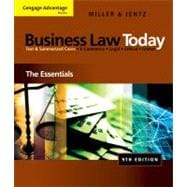 Cengage Advantage Books: Business Law Today
