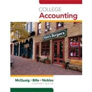 College Accounting, Chapters 1-12, 10th Edition
