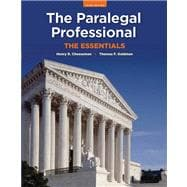 The Paralegal Professional The Essentials Plus NEW MyLegalStudiesLab and Virtual Law Office Experience with Pearson eText -- Access Card Package