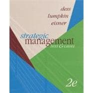 Strategic Management : Text and Cases with OLC with Premium Content Card