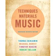 Techniques and Materials of Music From the Common Practice Period Through the Twentieth Century, Enhanced Edition (with Premium Website Printed Access Card)
