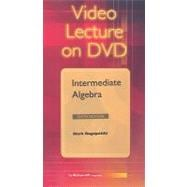 DVD Video Series  to accompany Intermediate Algebra
