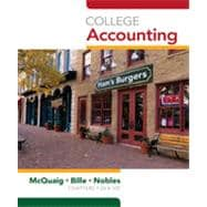 College Accounting, Chapters 1-24, 10th Edition