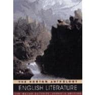 Norton Anthology of English Literature: The Major Authors
