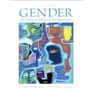 Gender in Cross-Cultural Perspective Plus MySearchLab -- Access Card Package