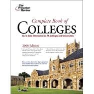 Complete Book of Colleges, 2008 Edition