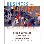 Business and Society: Stakeholders, Ethics, Public Policy w/ Powerweb card 11e