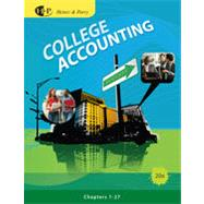 College Accounting, Chapters 1-27, 20th Edition