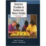 Effective Teaching in Elementary Social Studies