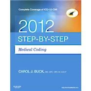 Step-By-Step Medical Coding 2012 (Book with Access Code)