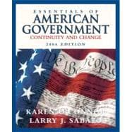 Essentials of American Government : Continuity and Change, 2006 Edition