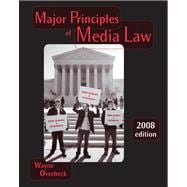 Major Principles of Media Law, 2008