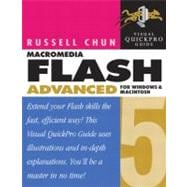 Flash 5 Advanced for Windows and Macintosh: Visual Quickpro Guide