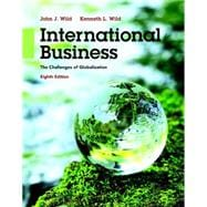 International Business: The Challenges of Globalization, 8/e