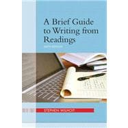 Brief Guide to Writing from Readings, A Plus NEW MyCompLab -- Access Card Package