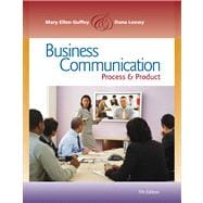 Business Communication Process and Product (Book Only)