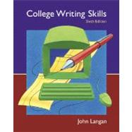 College Writing Skills: Text, Student CD, User's Guide, and Online Learning Center powered by Catalyst