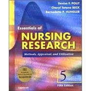 Essentials of Nursing Research Methods, Appraisal, and Utilization, With Online Articles