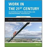 Work in the 21st Century