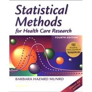 Statistical Methods for Health Care Research (Book with CD-ROM and Web Access Code)
