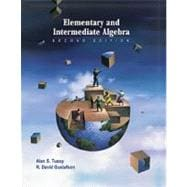 Elementary and Intermediate Algebra (Book with CD- ROM)